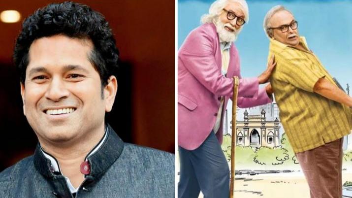 सचिन तेंदुलकर ने अमिताभ बच्चन और ऋषि कपूर की फिल्म '102 नॉट आउट' को देखकर कहा ये