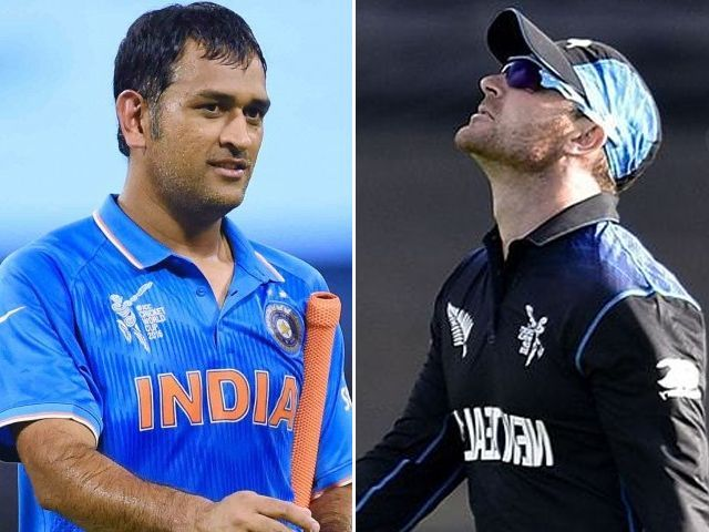 Brendon McCullum and MS Dhoni - Dhoni captains the T20I XI