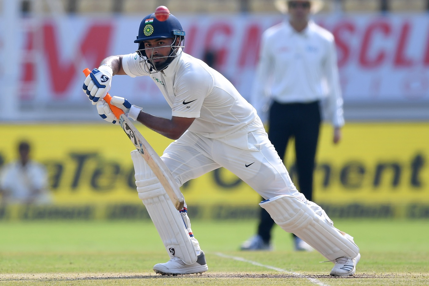 Rishabh Pant entertained the crowd to maximum | AFP