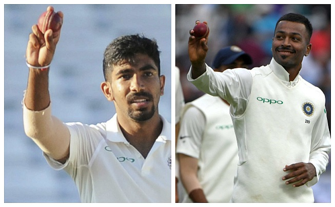 Jasprit Bumrah and Hardik Pandya turned the game around for India with their fifers  | Getty