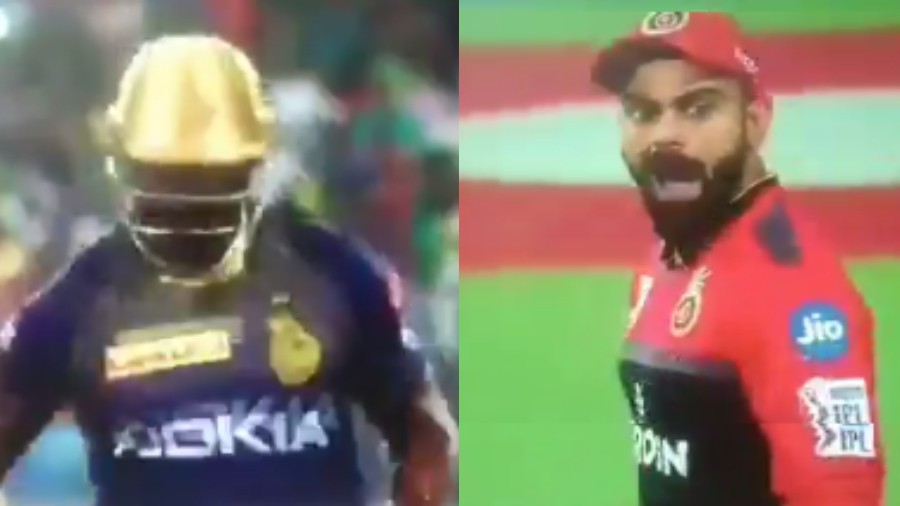 IPL 2019: WATCH - Virat Kohli gives an abusive send-off to Andre Russell