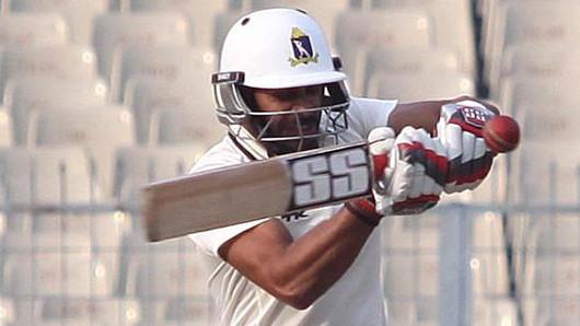 Ranji Trophy 2018-19: Bengal captain Manoj Tiwary slams 201* against Madhya Pradesh