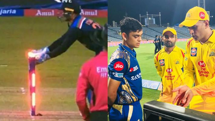 SL v IND 2021: WATCH - Ishan Kishan's stumping reminds of MS Dhoni's smart glovework