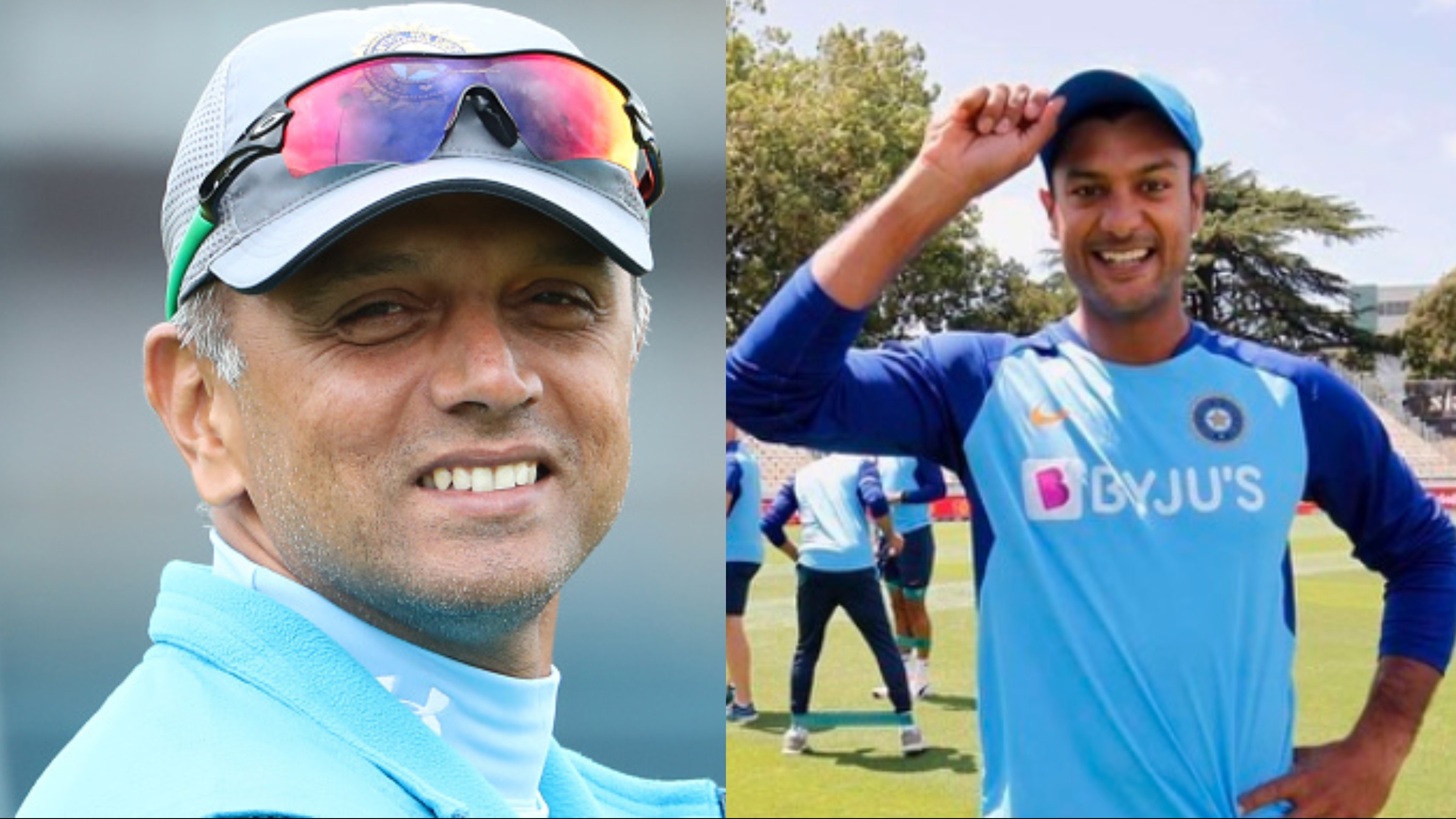 Mayank Agarwal recounts Rahul Dravid's words which motivated him until his India call up