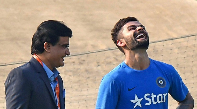 Sourav Ganguly with Virat Kohli | GETTY