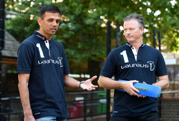 Watch- Steve Waugh almost takes Rahul Dravid's head off with a flick shot