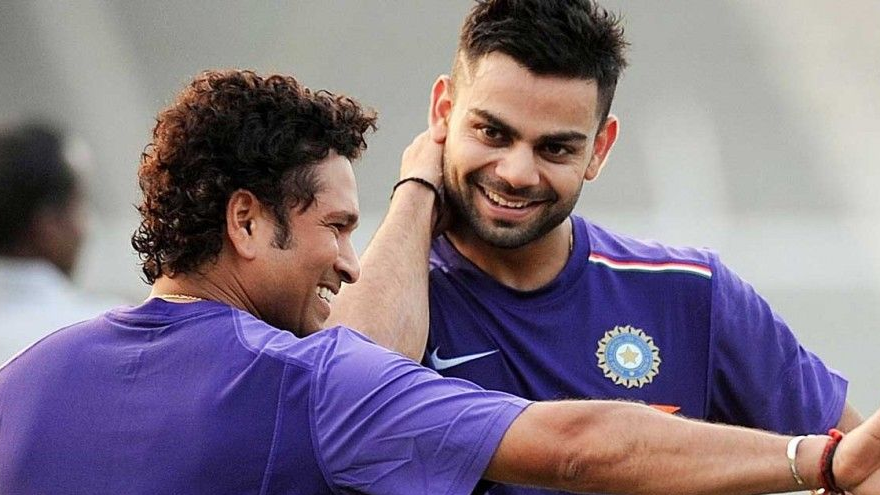 Virat Kohli calls Sachin Tendulkar his inspiration; speaks on the close bond shared by the two