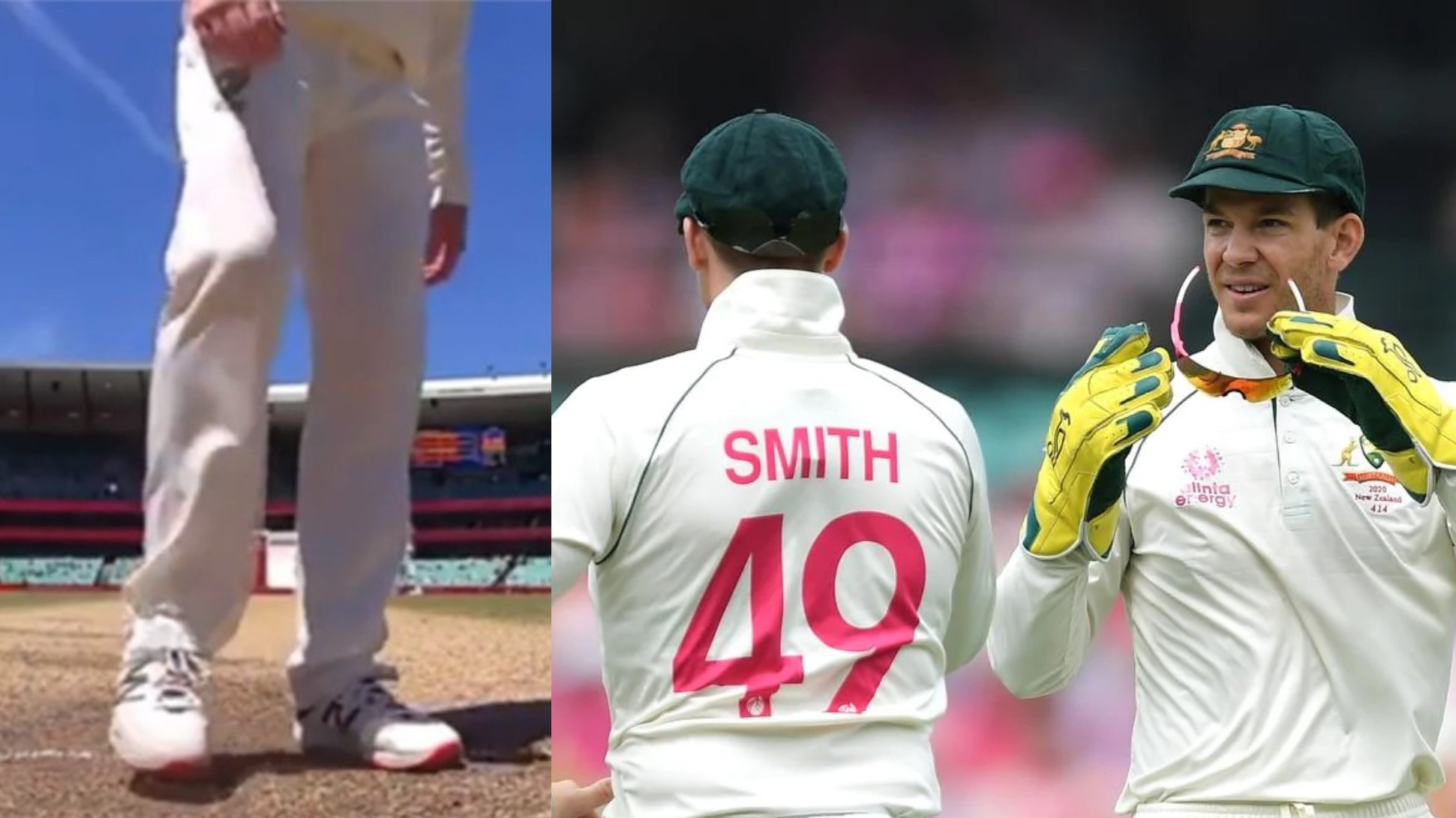 """AUS v IND 2020-21: Paine defends Smith """"he wasn't scuffing the guard, Indians would've complained if he did"""""""