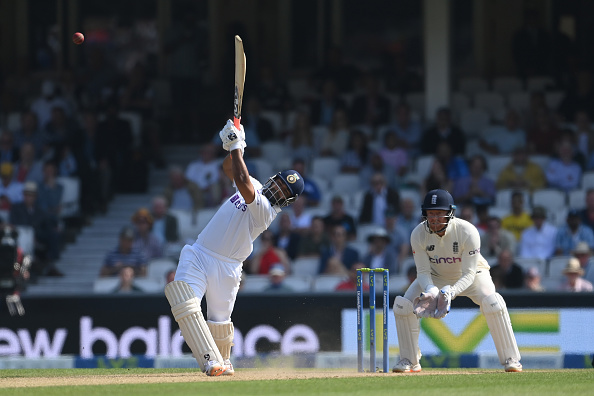Rishabh Pant scored his first fifty on England tour on Sunday   Getty Images