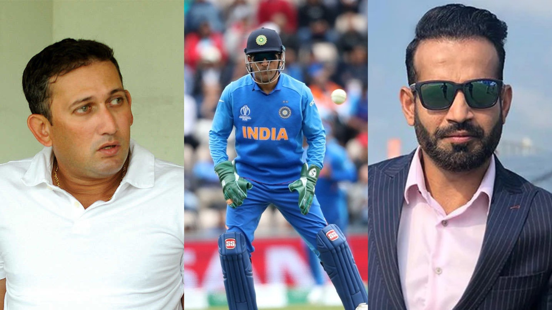 Irfan Pathan wants a farewell game for Dhoni, Agarkar lauds MCA's proposal of naming seat at Wankhede