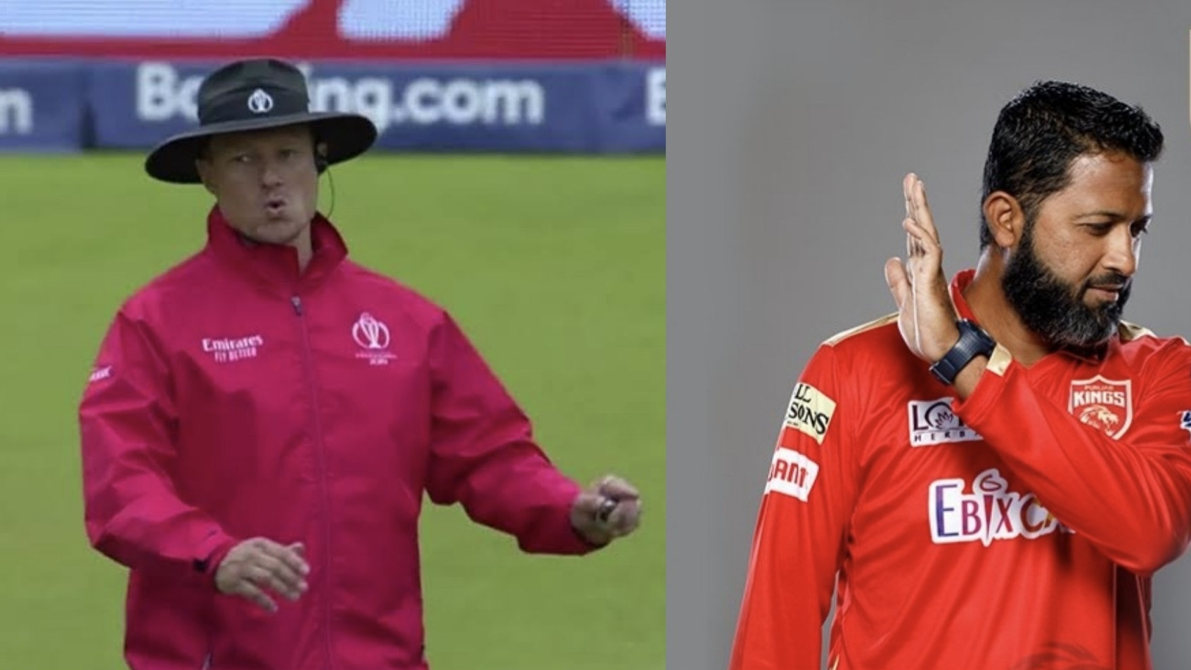 Wasim Jaffer shares a witty meme while choosing the umpire for the WTC final