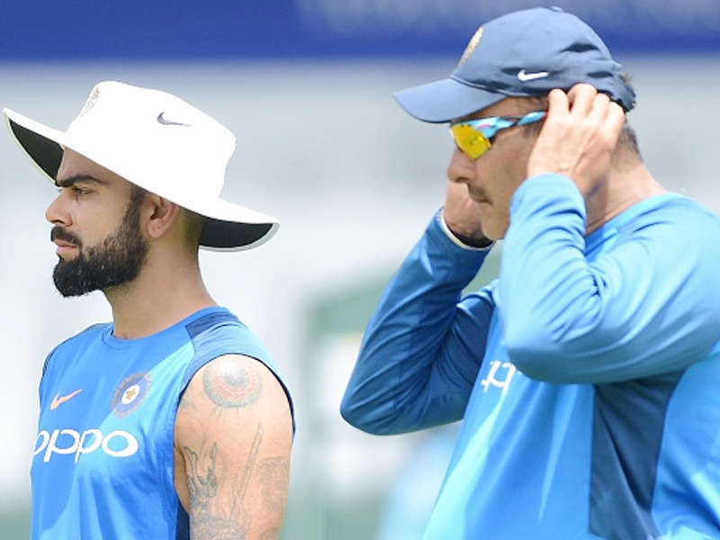 Ravi Shastri and Virat Kohli | GETTY