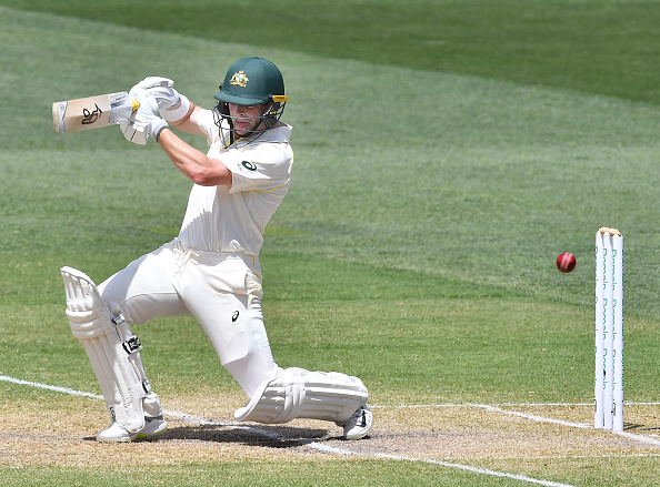 Harris scored only 26 in his debut Test in Adelaide | Getty Images