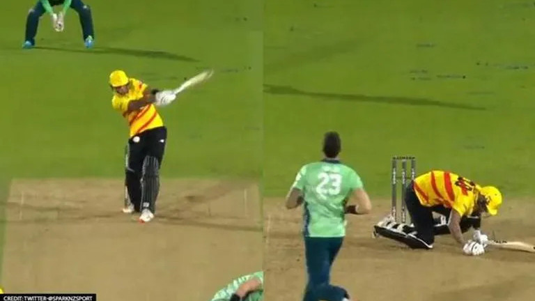 """The Hundred: """"Great to know no one found it funny"""" - Alex Hales after getting hit in the box twice"""