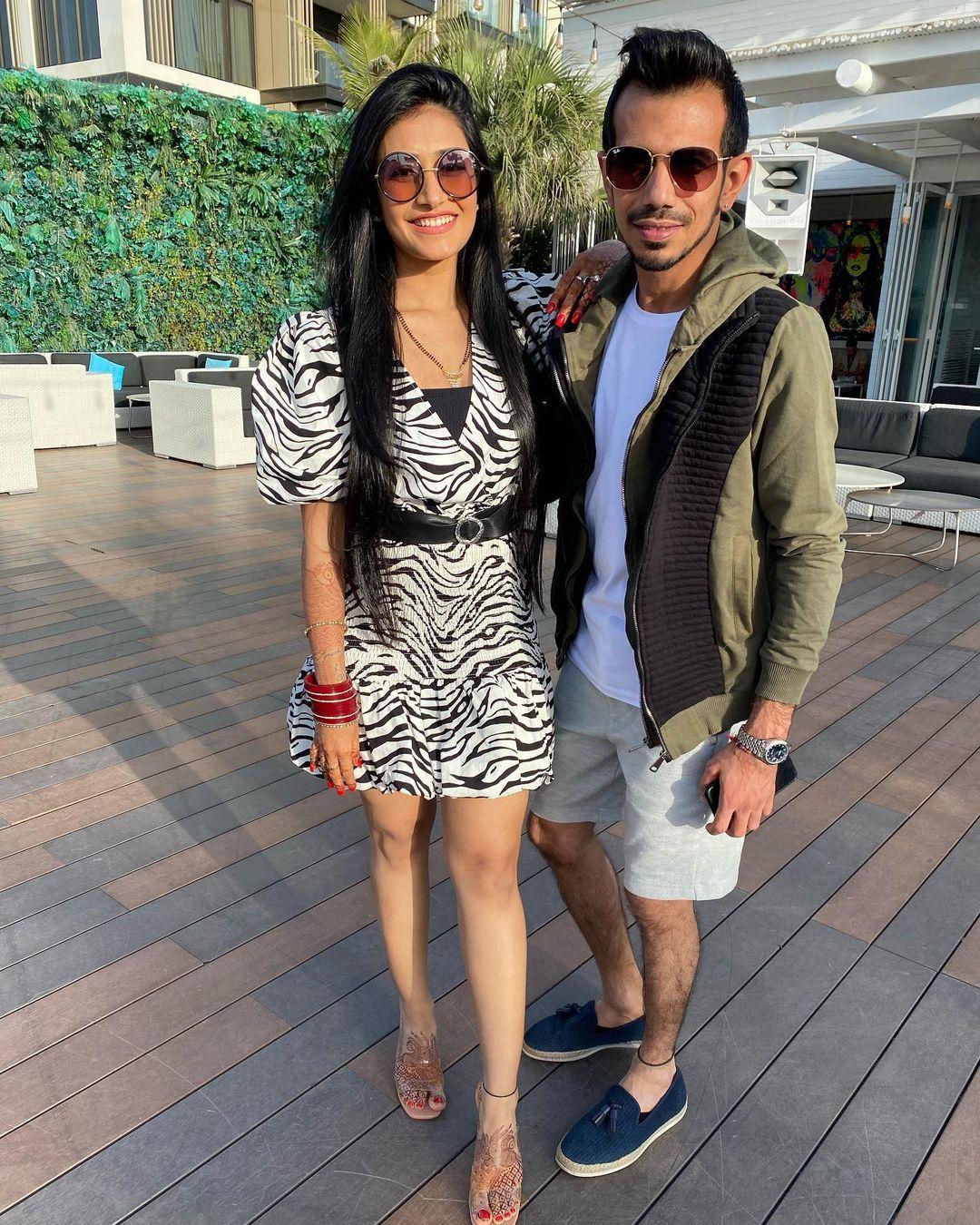 Chahal and Dhanashree are honeymooning in Dubai | Instagram