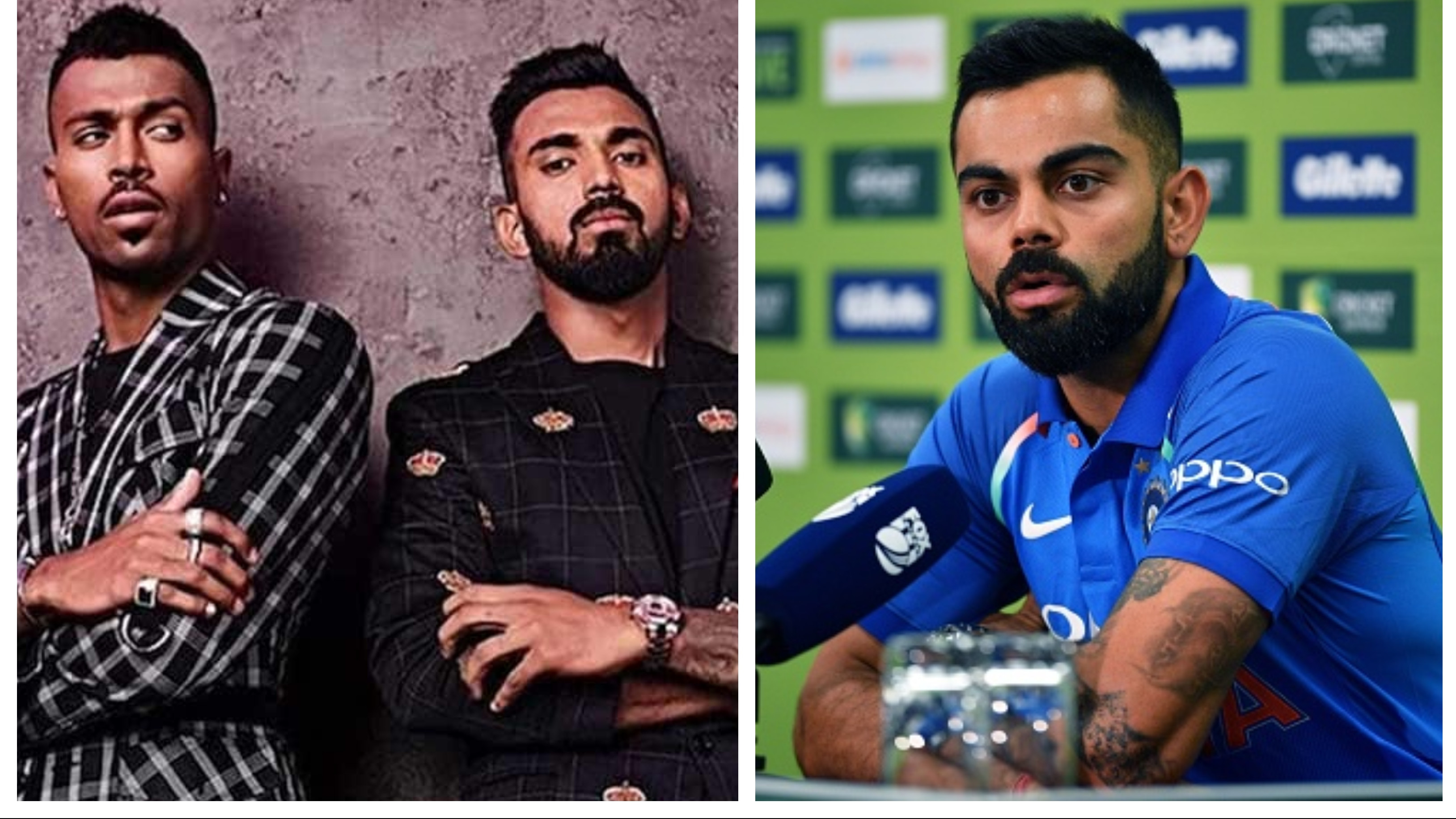 AUS v IND 2018-19: Virat Kohli breaks his silence on Pandya and Rahul's controversial comments