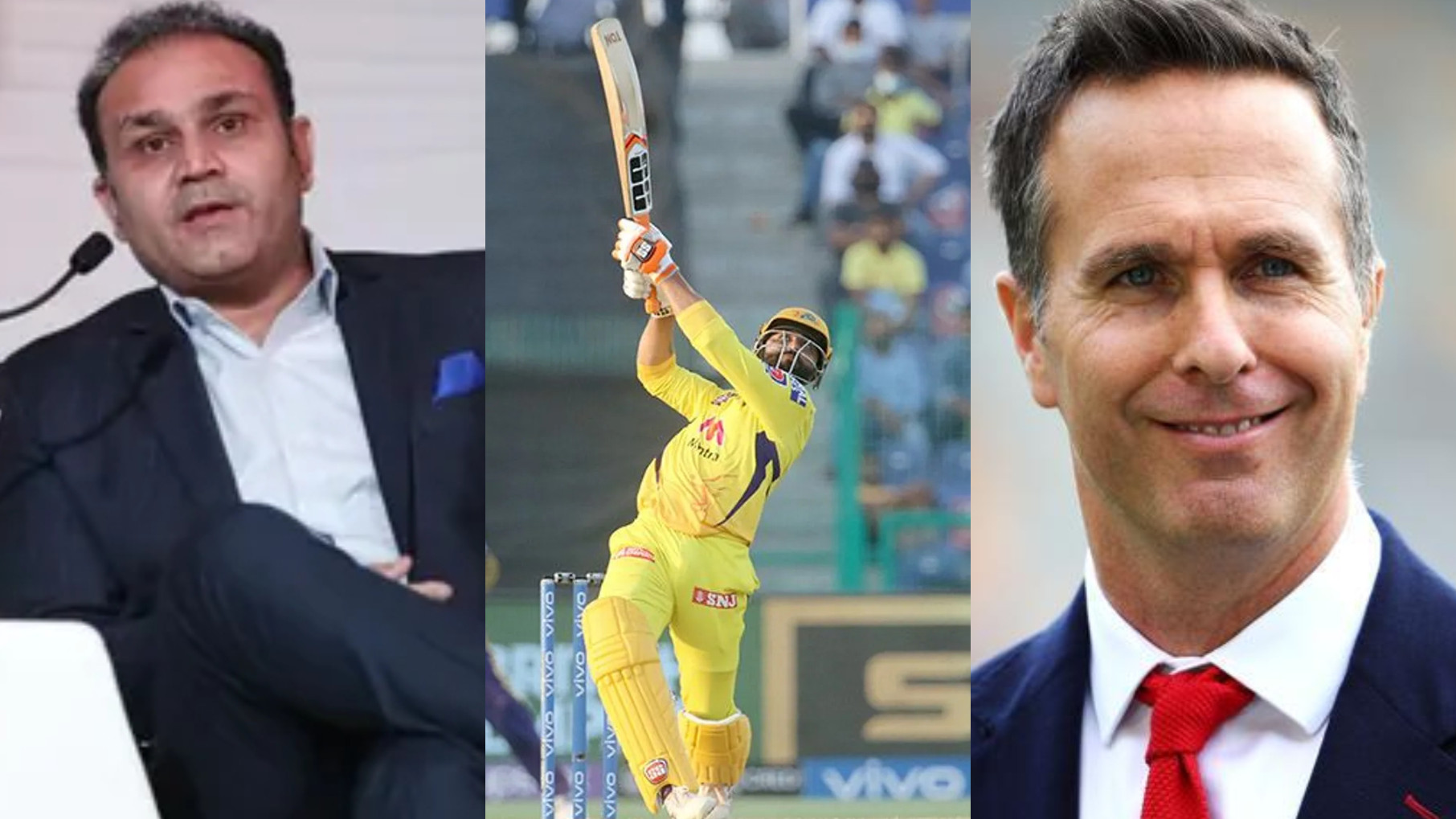 IPL 2021: Cricket fraternity reacts as CSK hold their nerve to beat KKR by 2 wickets; Jadeja stars with a cameo