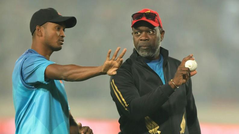 Bangladesh's bowling coach Ottis Gibson hints at playing three fast bowlers in Sri Lanka