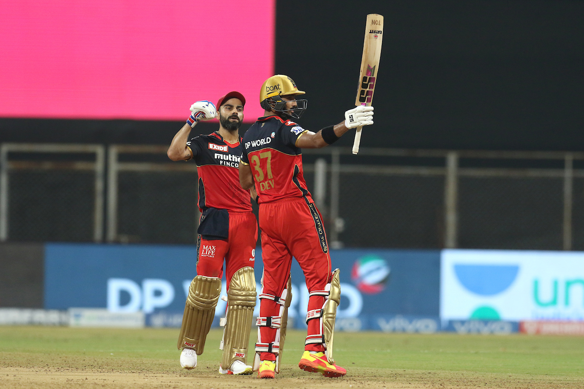 Devdutt Padikkal and Virat Kohli put on a show with the bat | BCCI/IPL