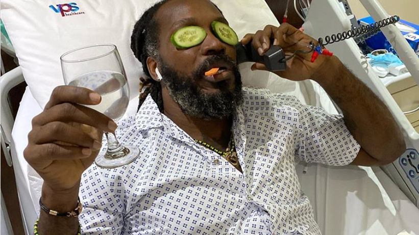 IPL 2020: Chris Gayle chilling in hospital; shares a health update in his own style
