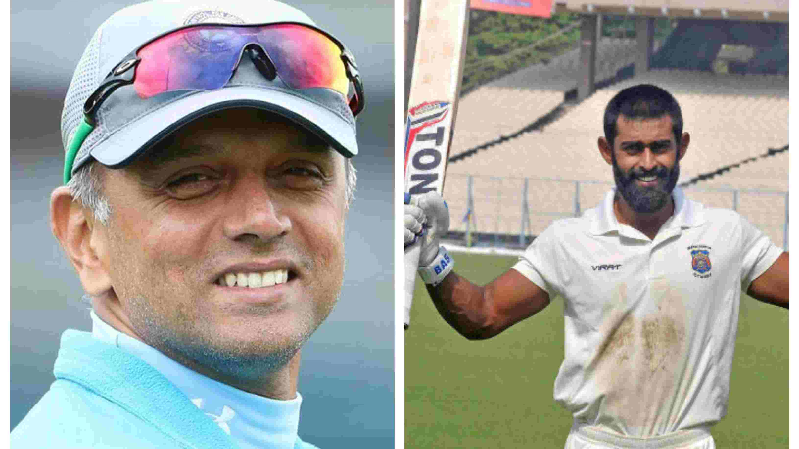 Ankeet Bawane recalls Rahul Dravid's praising words for him