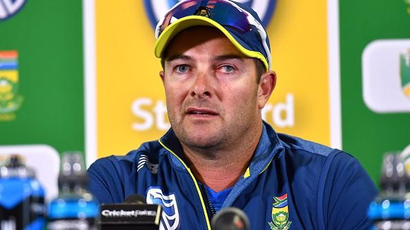 SA v ENG 2020: Mark Boucher takes full responsibility for team's poor performance at Port Elizabeth