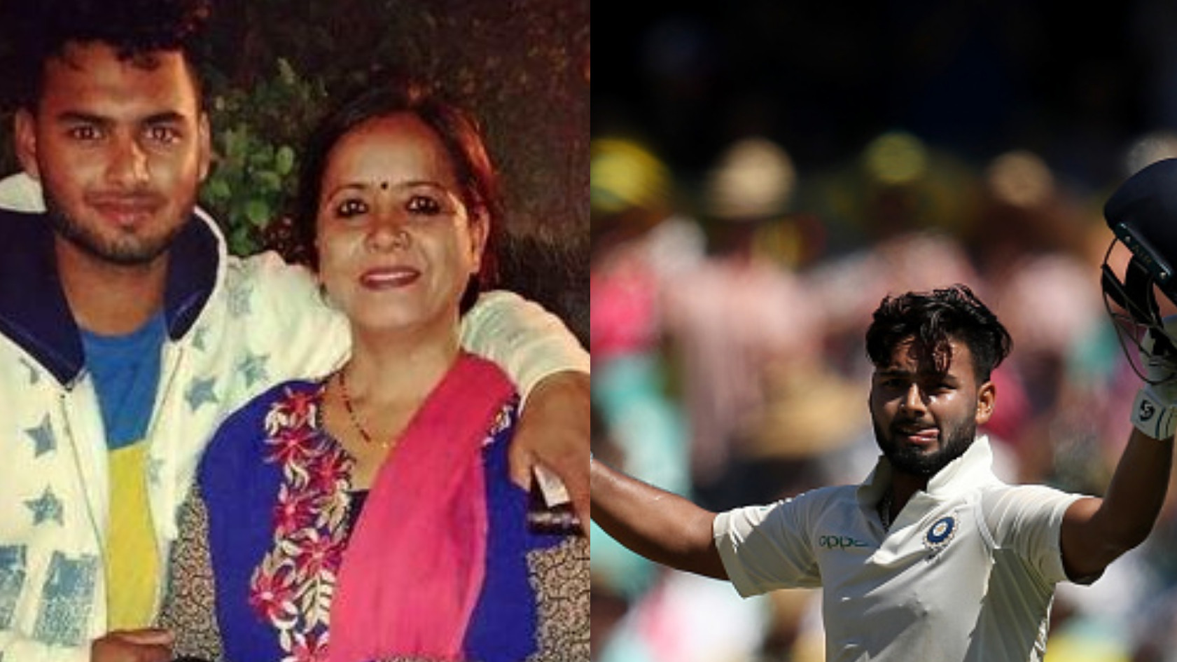 Rishabh Pant gifts a Test century in Australia to his mother on her birthday today