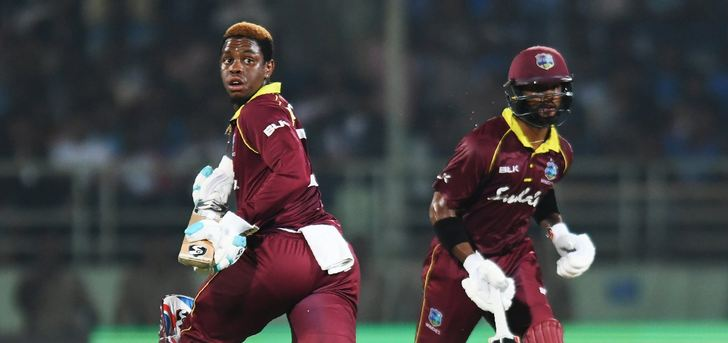 Shimron Hetmyer and Shai Hope added 143 runs for Windies | Twitter