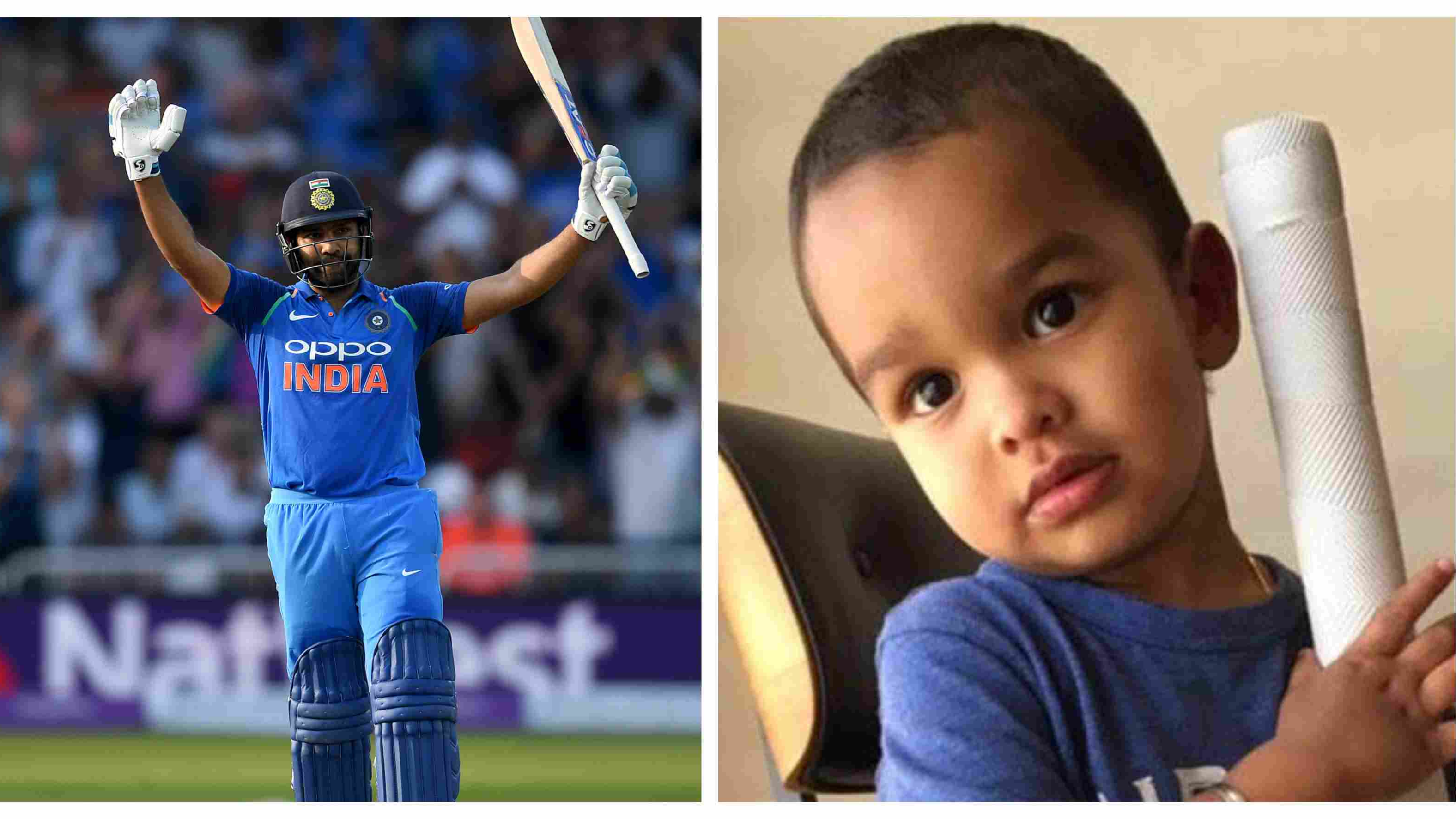 WATCH – Rohit Sharma's unique training with Shikhar Dhawan's son left social media in splits
