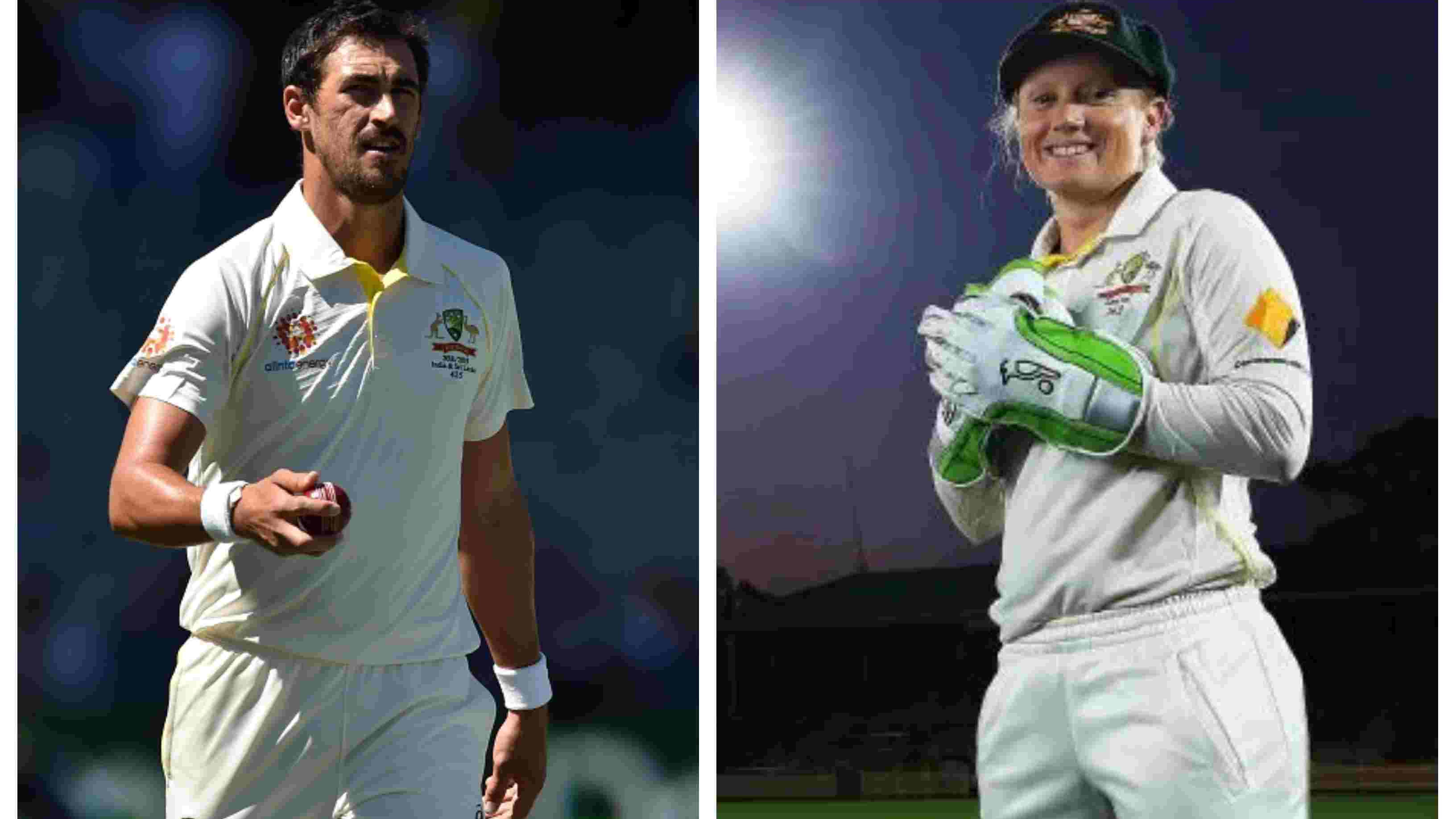 AUS v IND 2018-19: Alyssa Healy hits out at husband Mitchell Starc's detractors