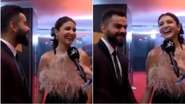 "WATCH: ""I love watching him, on and off the field"", says Anushka Sharma for Virat Kohli"