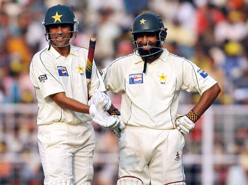 Younis Khan and Mohammad Yousuf | Getty Images
