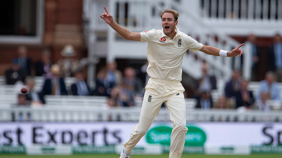 ENG v IND 2018: Stuart Broad relishes the prospect of playing at Trent Bridge