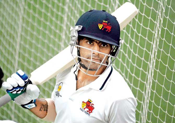 Suryakumar Yadav talks about proving his talent via performances on domestic circuit