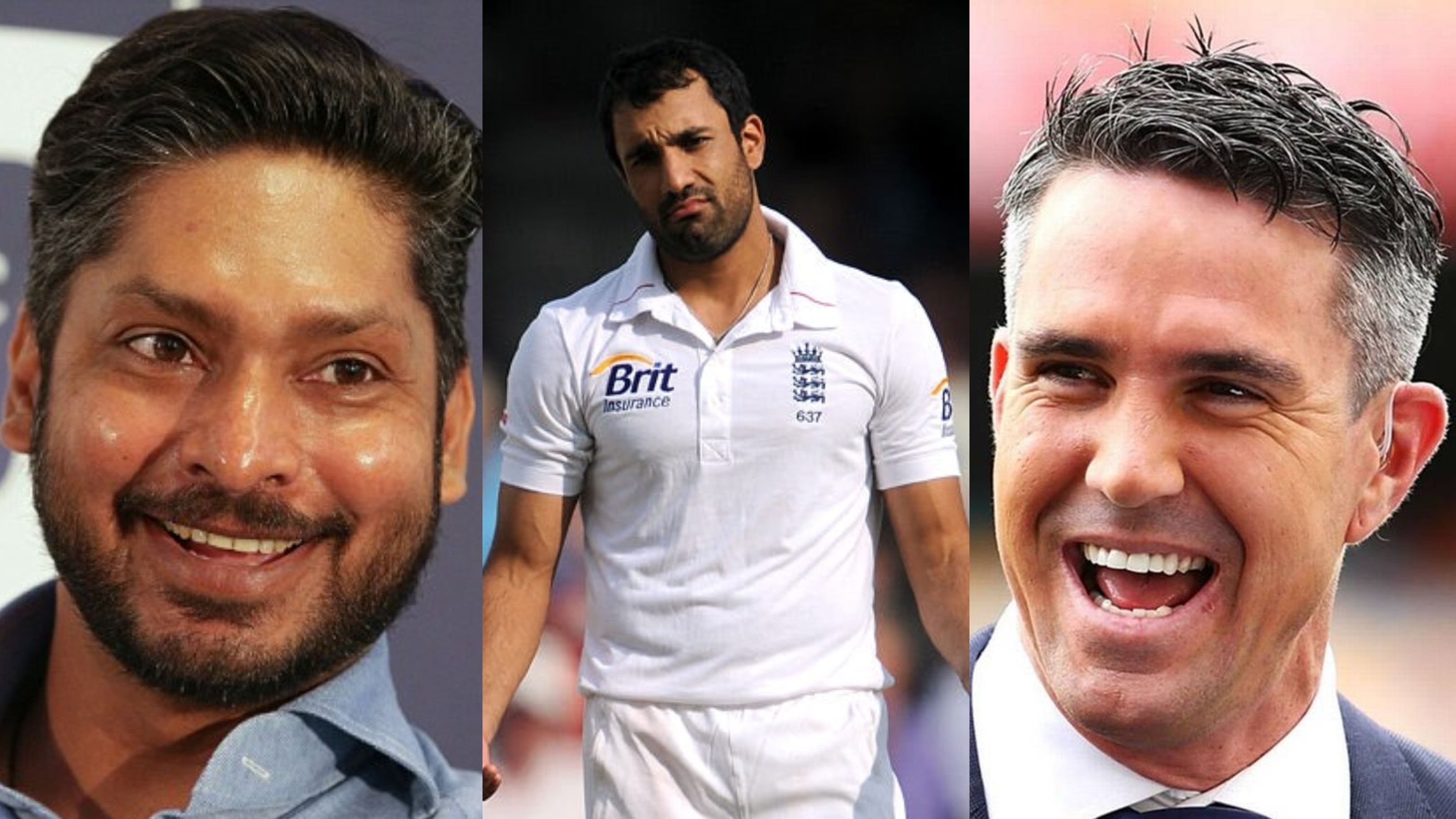 Kumar Sangakkara and Kevin Pietersen ruthlessly mock Ravi Bopara over his old picture