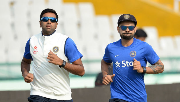 Kohli does not have a negative bone in his body, says Ashwin (Pic. source: AFP)