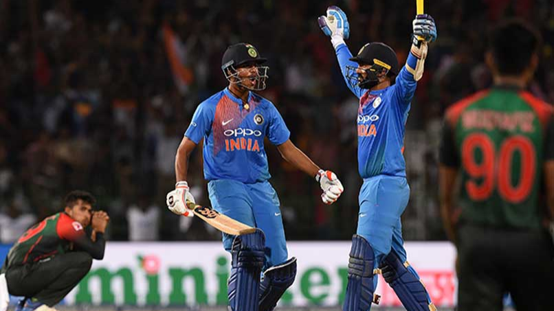 Nidahas Tri-series 2018: Twitter reacts to India's nerve-wrecking victory courtesy Dinesh Karthik's last-ball six