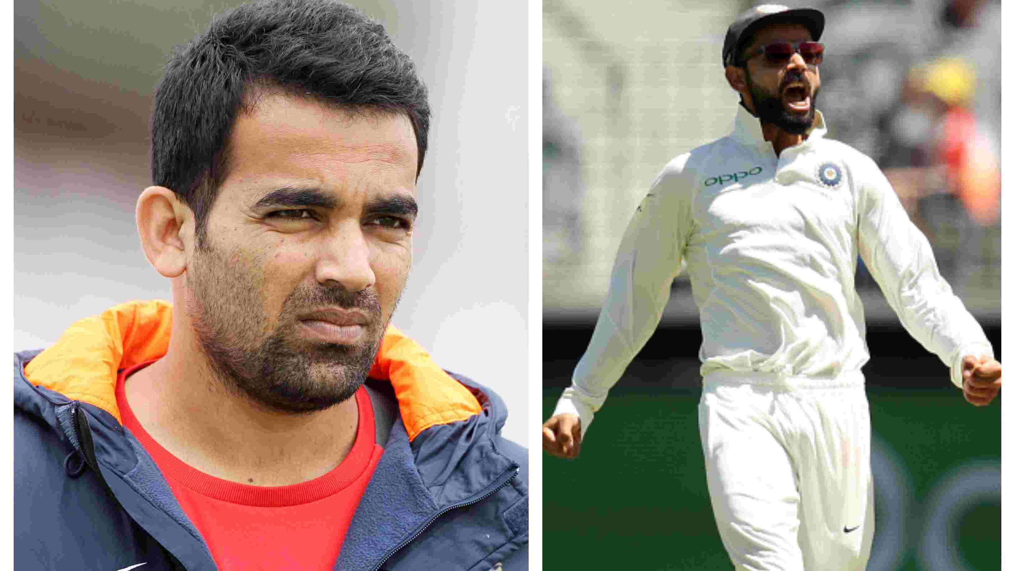 AUS v IND 2018-19: Virat Kohli should not tone down his aggression, says Zaheer Khan
