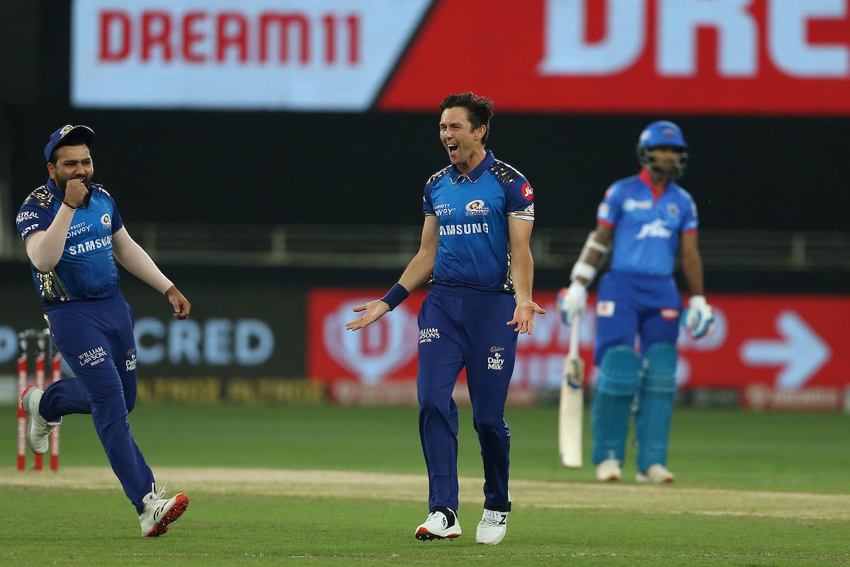 Boult's spell set-up MI's five-wicket win   BCCI/IPL