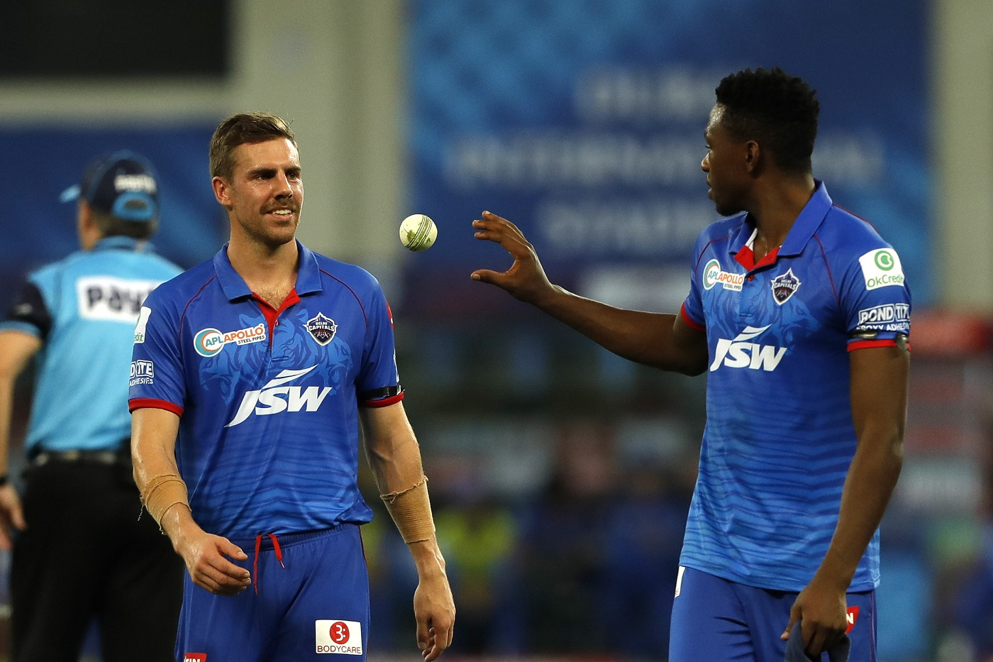 Anrich Nortje and Kagiso Rabada for DC | BCCI/IPL