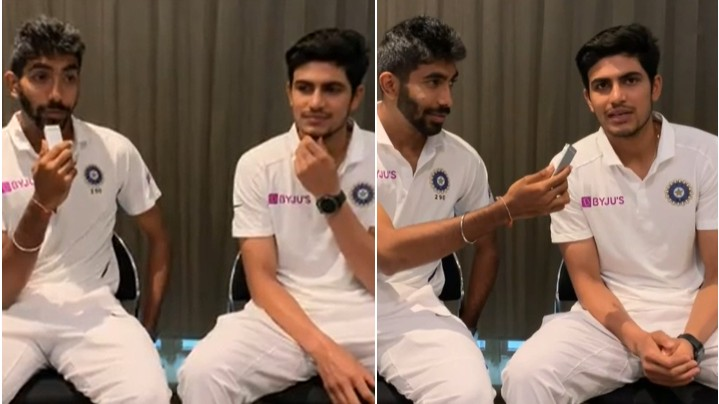 NZ v IND 2020: WATCH- Shubman Gill and Jasprit Bumrah take interesting rapid fire questions
