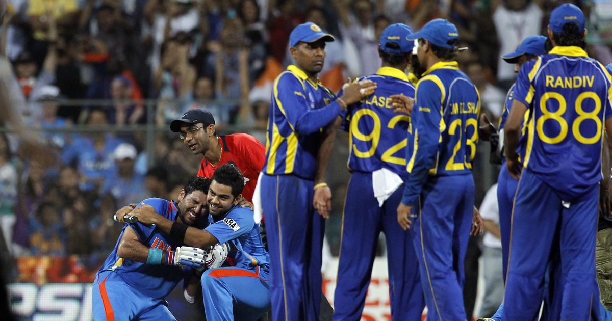 Sri Lanka lost the 2011 World Cup final to India in Mumbai | AFP