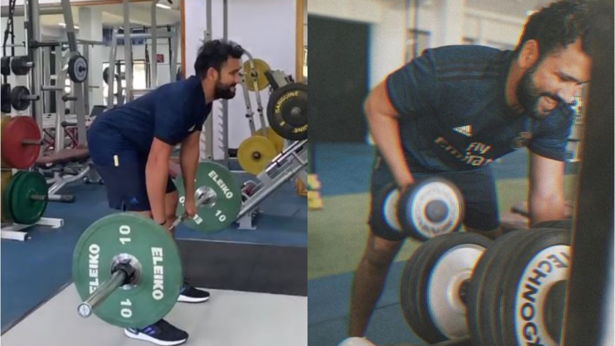IPL 2020: WATCH - Rohit Sharma getting fit and ready for the new season of IPL