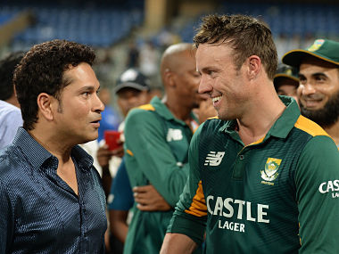 Sachin Tendulkar's special birthday wish for AB de Villiers