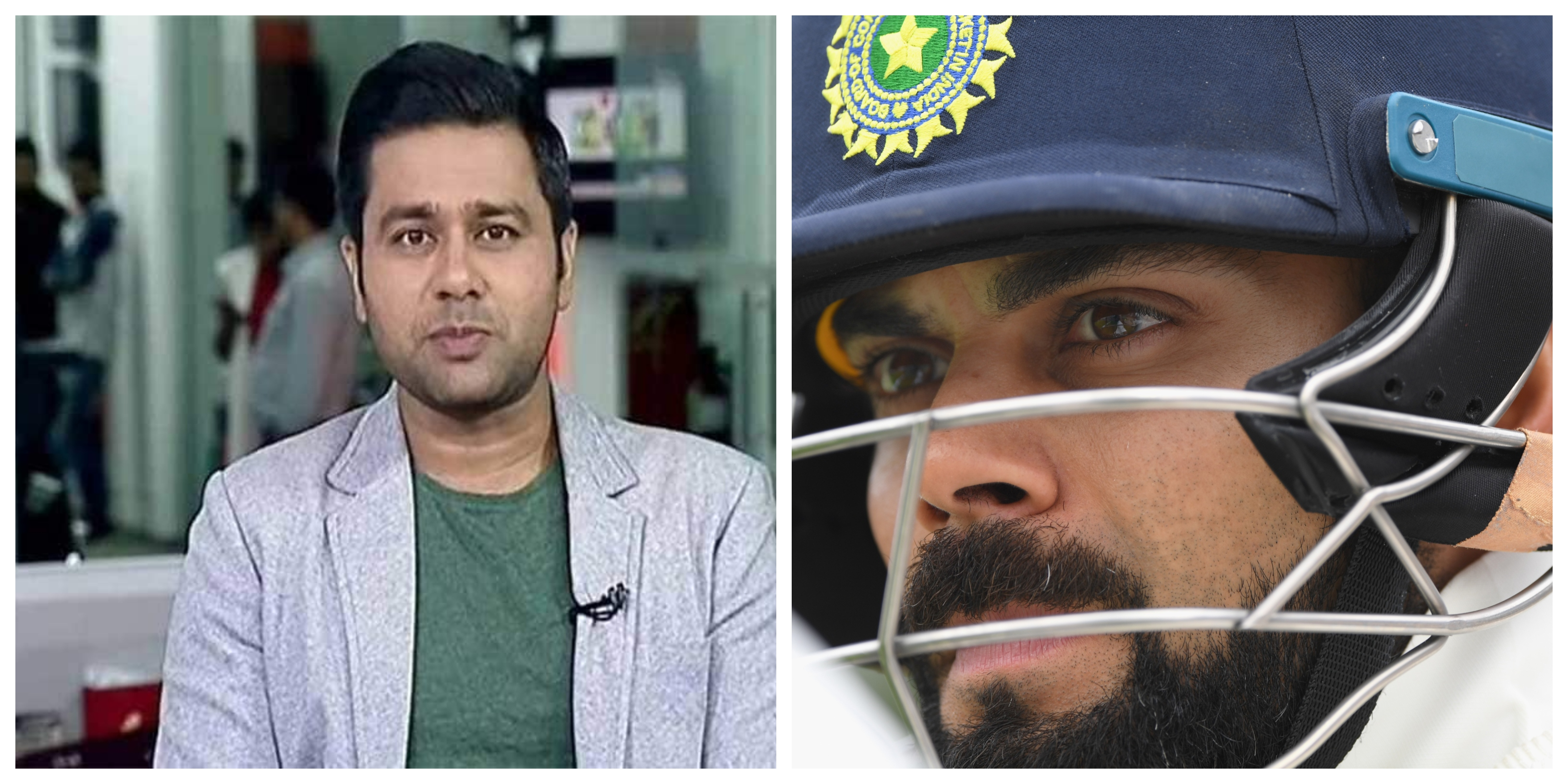 Aakash Chopra thinks most of the Indian batsmen either side of Virat Kohli has regressed with their games for overseas conditions. | Getty