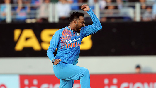 NZ v IND 2019: 2nd T20I- India keeps New Zealand to 158/8 as Krunal picks 3/28