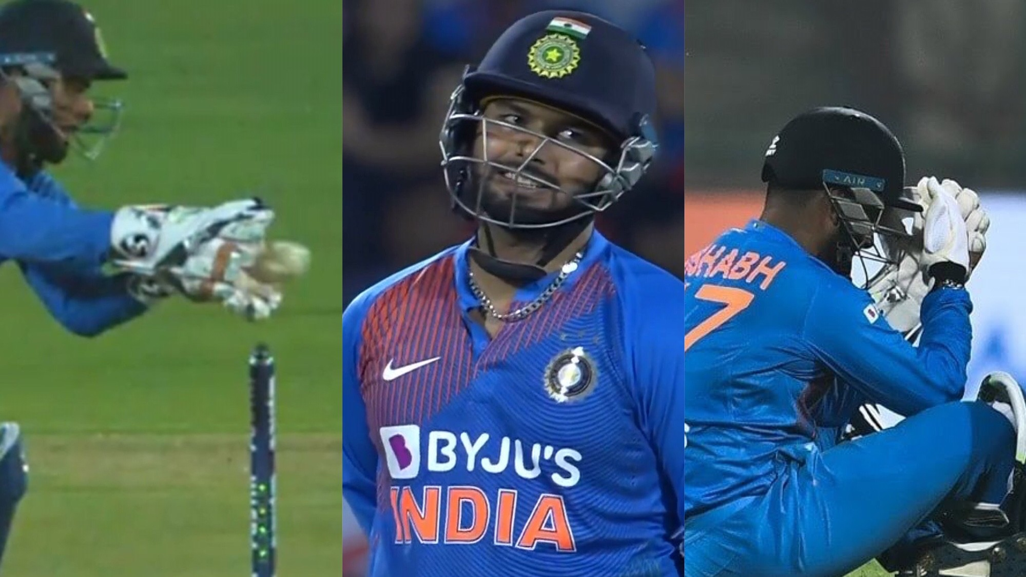 IND v BAN 2019: WATCH - Rishabh Pant messes up simple stumping of Liton Das