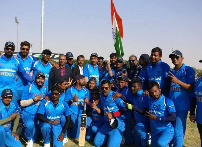 Indian Blind Cricket Team won the Blind cricket World cup beating Pakistan in Sharjah | Twitter