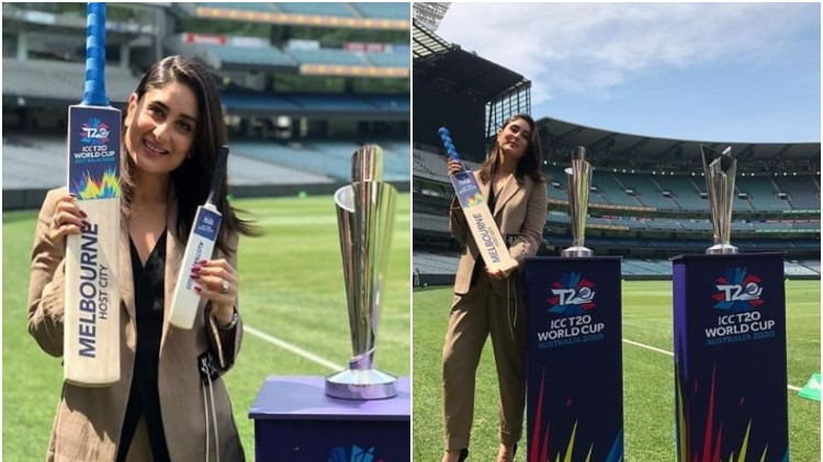 Kareena Kapoor Khan feels honored to unveil ICC T20 World Cup 2020 trophies