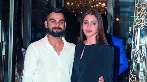 Virat Kohli lovestruck by his wife Anushka Sharma